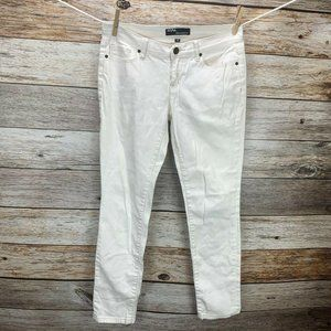 Urban Outfitters White Ankle Cigarette Jeans sz 28